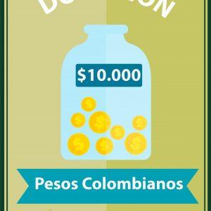 Donación $10.000
