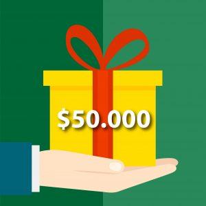 Donación $50.000